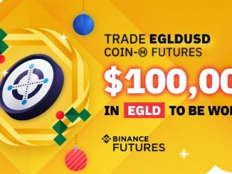 Trade EGLDUSD On Binance Futures (Trading Competition) To Win $100,000 In EGLD Tokens
