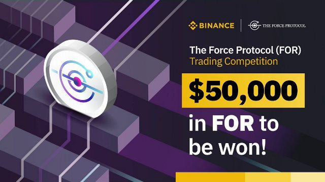 FOR Trading Competition On Binance - $50,000 In FOR To Be Won