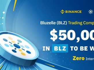 ​​Bluzelle Trading Competition - $50,000 in BLZ Tokens to Be Won!