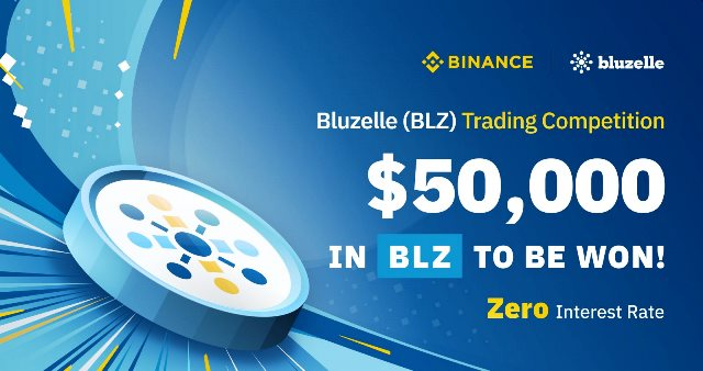 Bluzelle Trading Competition - $50,000 in BLZ Tokens to Be Won!