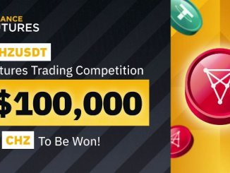 CHZUSDT Futures Trading Competition On Binance - Win $100,000 In CHZ Tokens
