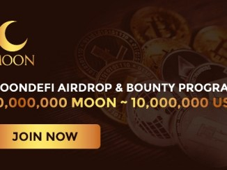 Moon Defi Crypto Airdrop - Get Free $6.5 Of MOON Tokens