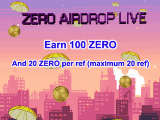 ZERO Crypto Airdrop Program - Earn Free $7.5 Of ZERO Tokens