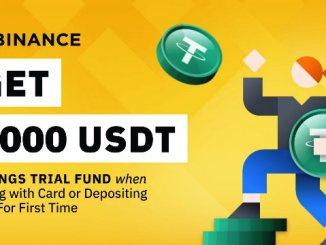 Get $1K USDT Voucher From Binance For Your First Fiat Deposit
