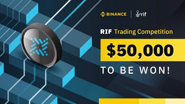 Trade RIF On Binance And Win Up to $50,000 In RIF Tokens
