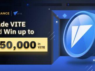 VITE Promotion On Binance – Win $50,000 In VITE Tokens