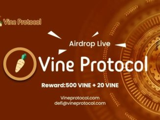 Vine Protocol Crypto Airdrop - Earn Free $250 Of VINE Tokens