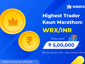 WazirX Trading Contest - $6,000 Worth Of WRX Prizes