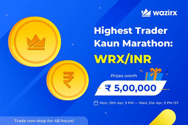 WazirX Trading Contest - $6,000 Worth Of WRX Prizes
