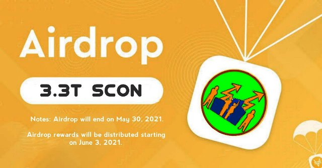 SafeContent Crypto Airdrop Campaign - Earn Free $15 Of SCON Tokens