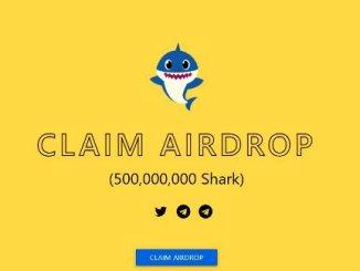 Shark Stake Crypto Airdrop - Get Free 500 Million SHARK Tokens
