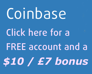 Free Sign Up bonus from Coinbase