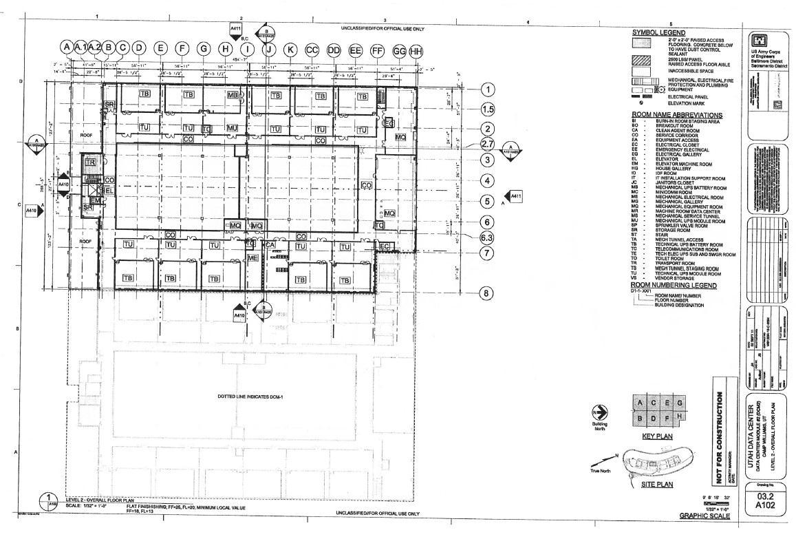 Nsa Utah Data Center Construction Plans