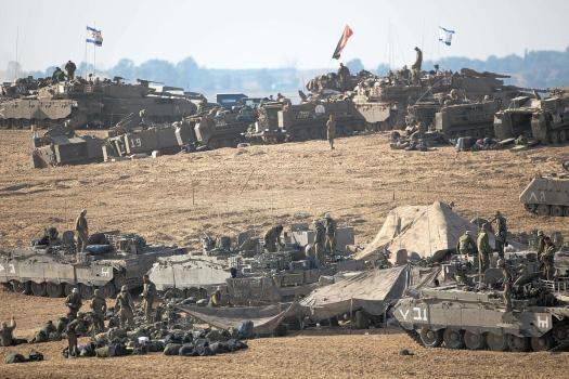idf gaza ground invasion