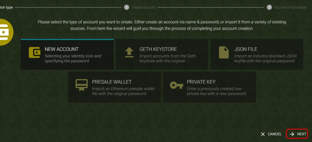 Parity Ethereum Wallet كيفية استخدام محفظة Parity Ethereum كريبتومينا الشرق الأوسط و شمال أفريقيا