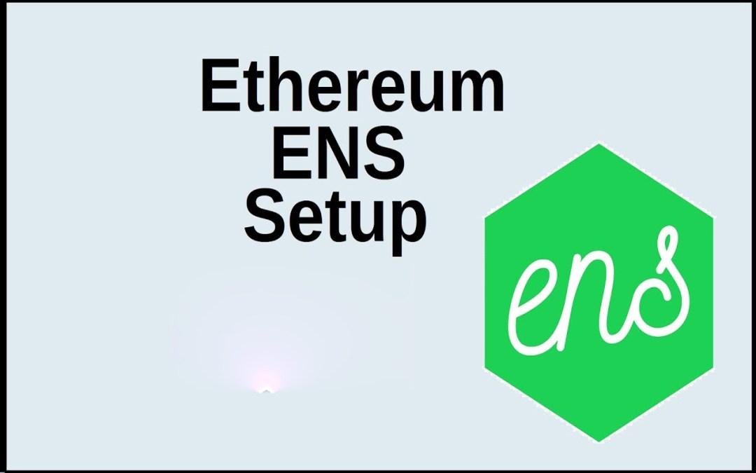 ما هي خدمة Ethereum – ENS وكيف يتم استخدامها؟