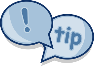 dialog, tip, advice