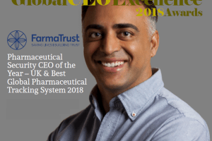 CEO of just another ICO, is now the Global Pharmaceutical CEO of the year.