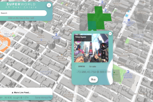 SuperWorld AR Real Estate token is like playing Monopoly in the Real World