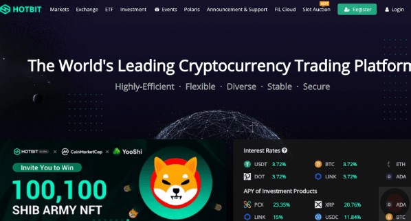 HOTBIT: the Innovative Platform for Promising Income