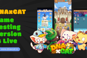 The Testing Version of DNAxCAT , the Most Anticipated Blockchain Game in the Outbreak of GameFi, is Live!