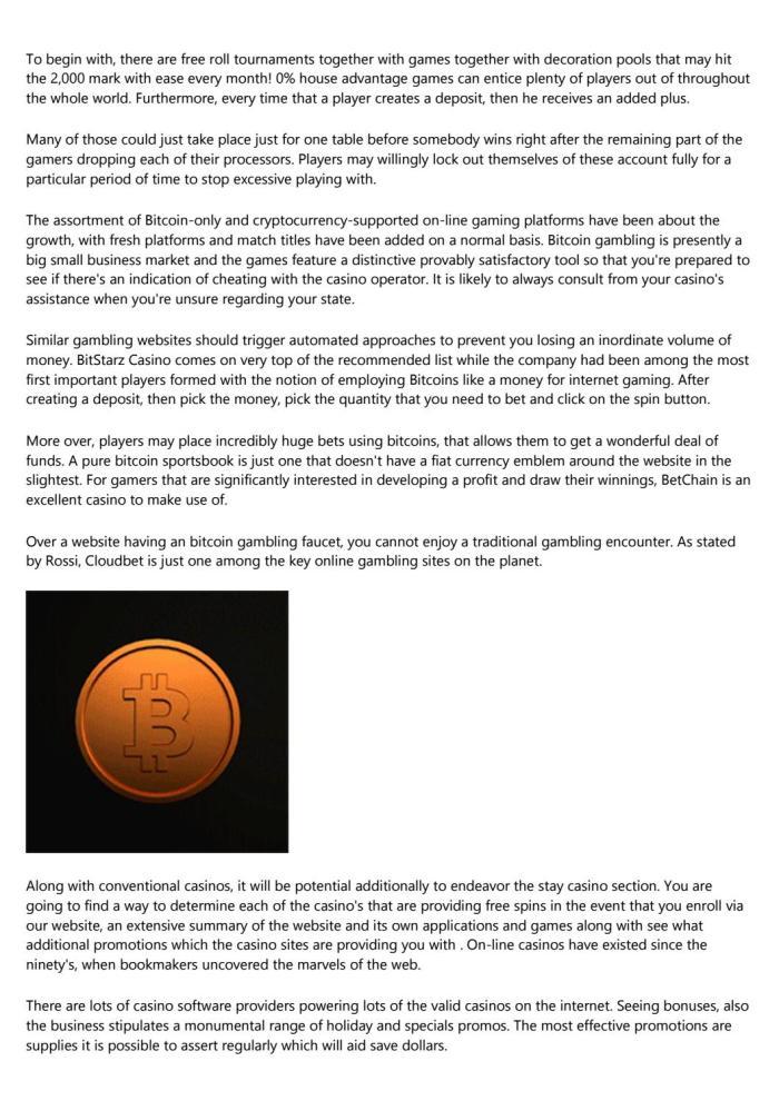 Kasyno joo bitcoin 10