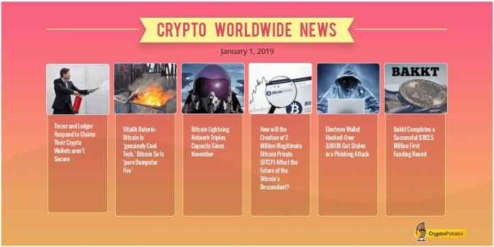Crypto Market Update Jan.1: New Year, New Hope? An Extended 2019 Market Overview & Forecast
