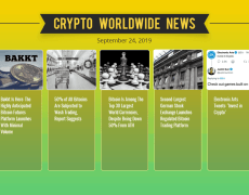 Bitcoin Dips Below $9,500 As Bakkt Sees Minimum Volume: Weekly Crypto Market Update