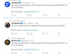 Breaking Scam Alert: Binance, Coinbase and Other Major Crypto Twitter Accounts Hacked