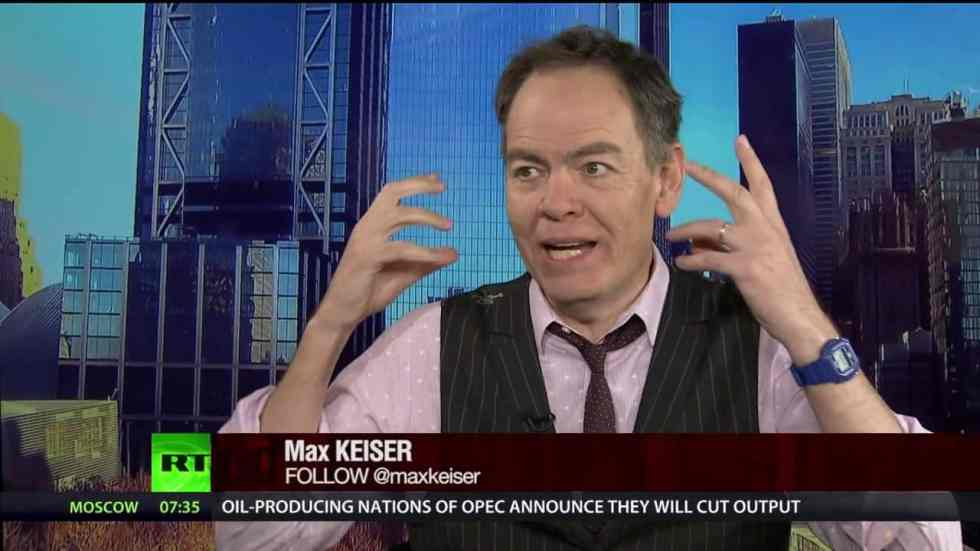 Max Keiser. Source; Yahoo