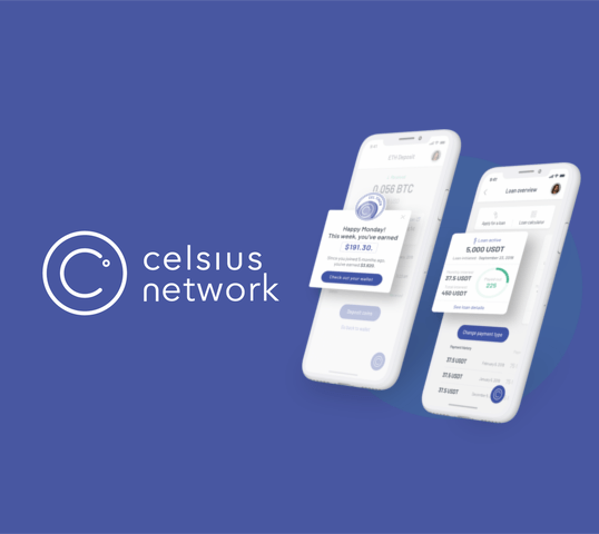 Celsius Network Side Banner
