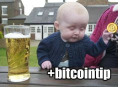 Bitcoin Tipping Meme