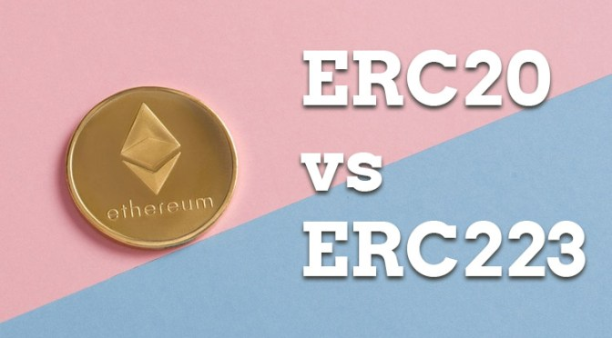 ERC20 Token Design Mistakes vs ERC223 Token