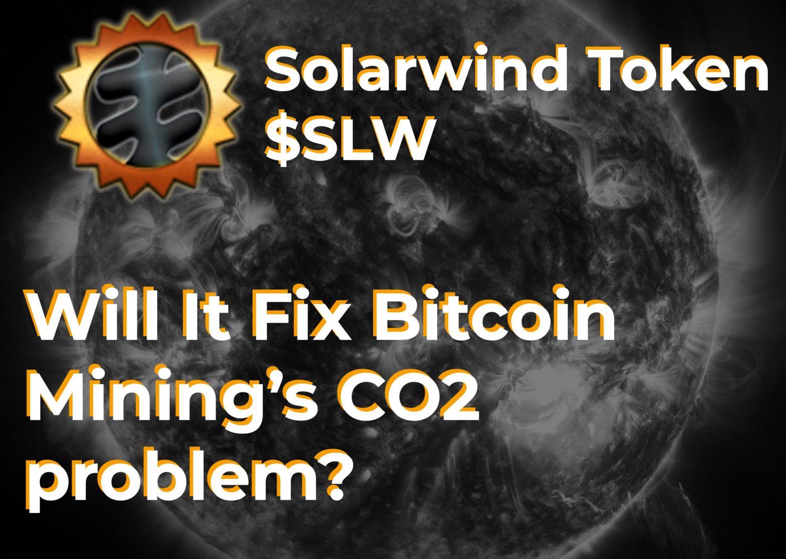Solarwind Token Promo