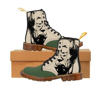 Satoshi Nakamoto Men's Martin Boots