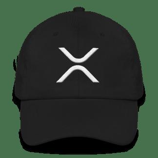XRP White Logo Cap