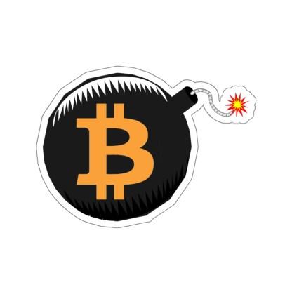 Bitcoin Bomb Crypto Stickers