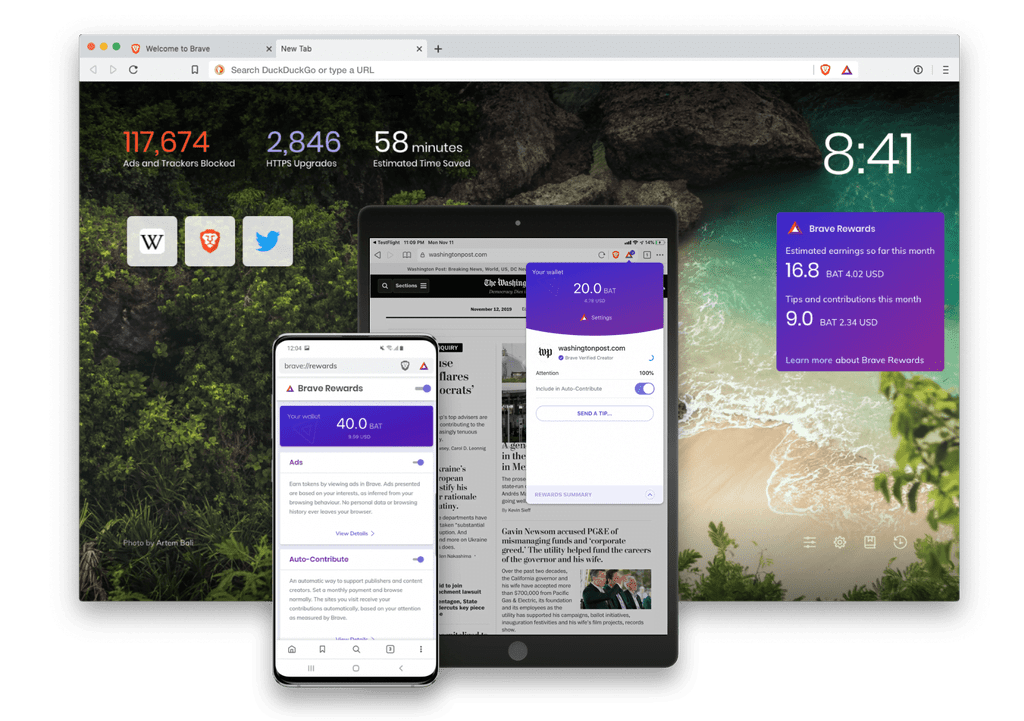 Brave Browser on Multiple Devices