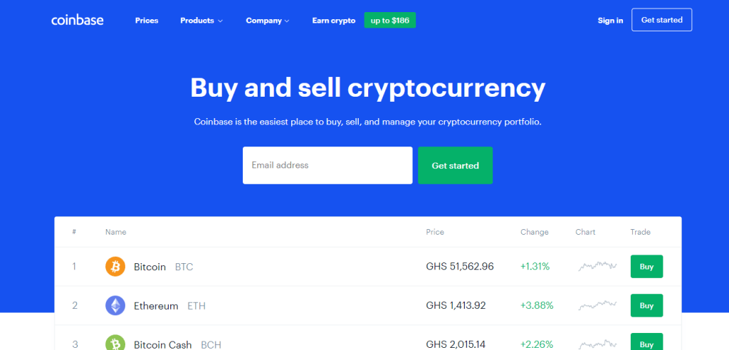 Coinbase - Top Cryptocurrency Exchange