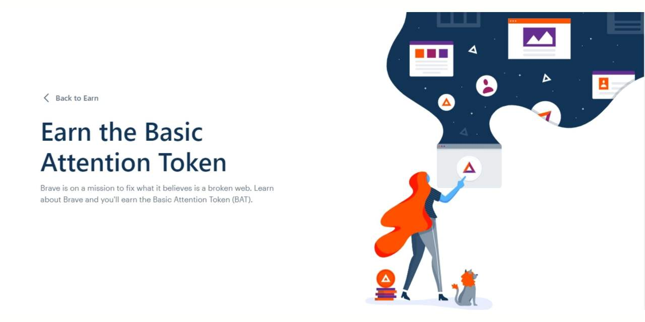 The top 3 ways to earn Basic Attention Token (BAT) on Brave Browser