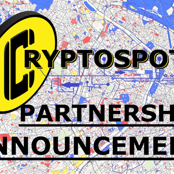 Cryptospots DApp Partnership Announcement