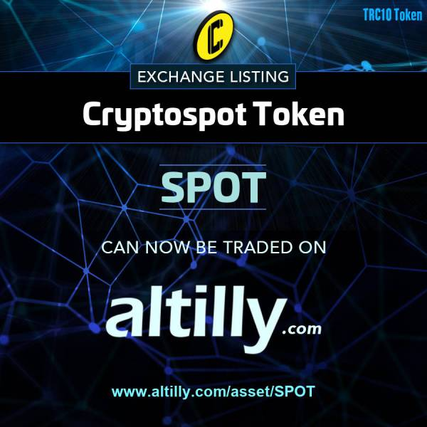 SPOT Trading LIVE on Altilly