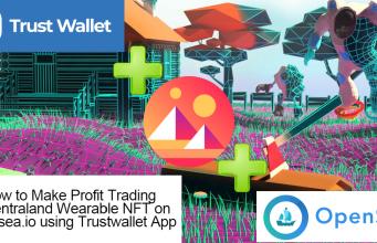 profit in NFT trading via trustwallet app
