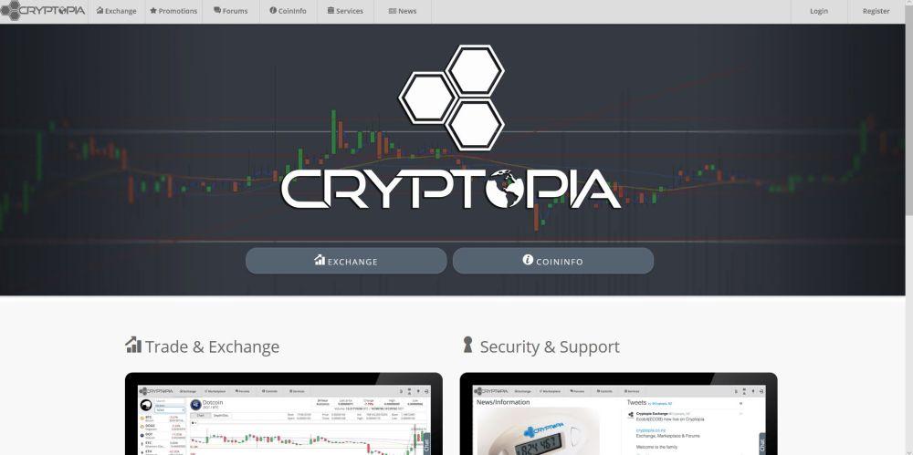 Altcoins kaufen bei Cryptopia