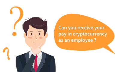 can you receive your pay in crypto as an employee