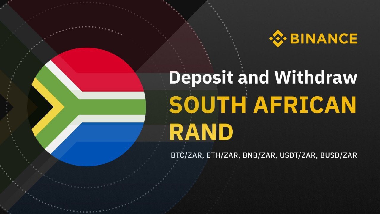 Binance Launches a Fiat on-ramp for the South African Rand ...