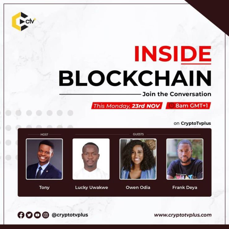 Inside blockchain CryptoTVPlus