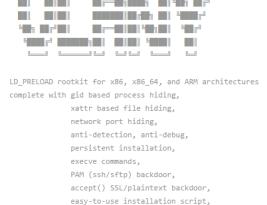 Linux-руткит на базе LD_PRELOAD