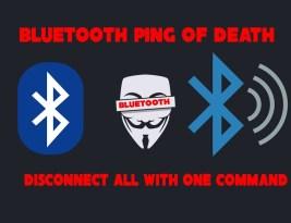 Как устроить DDoS атаку на Bluetooth устройство