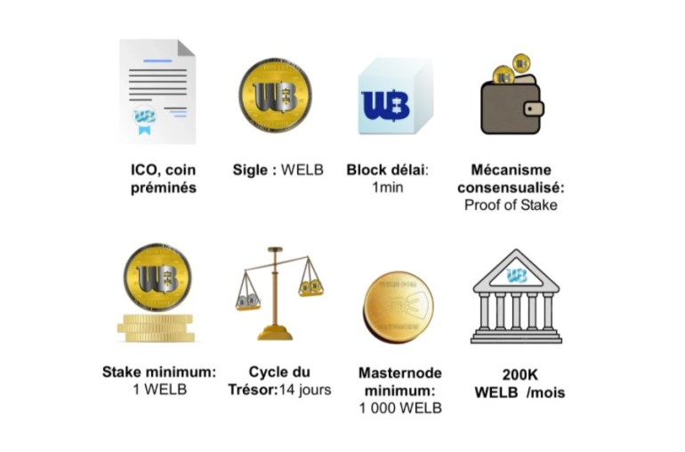 WellBe Coin Features